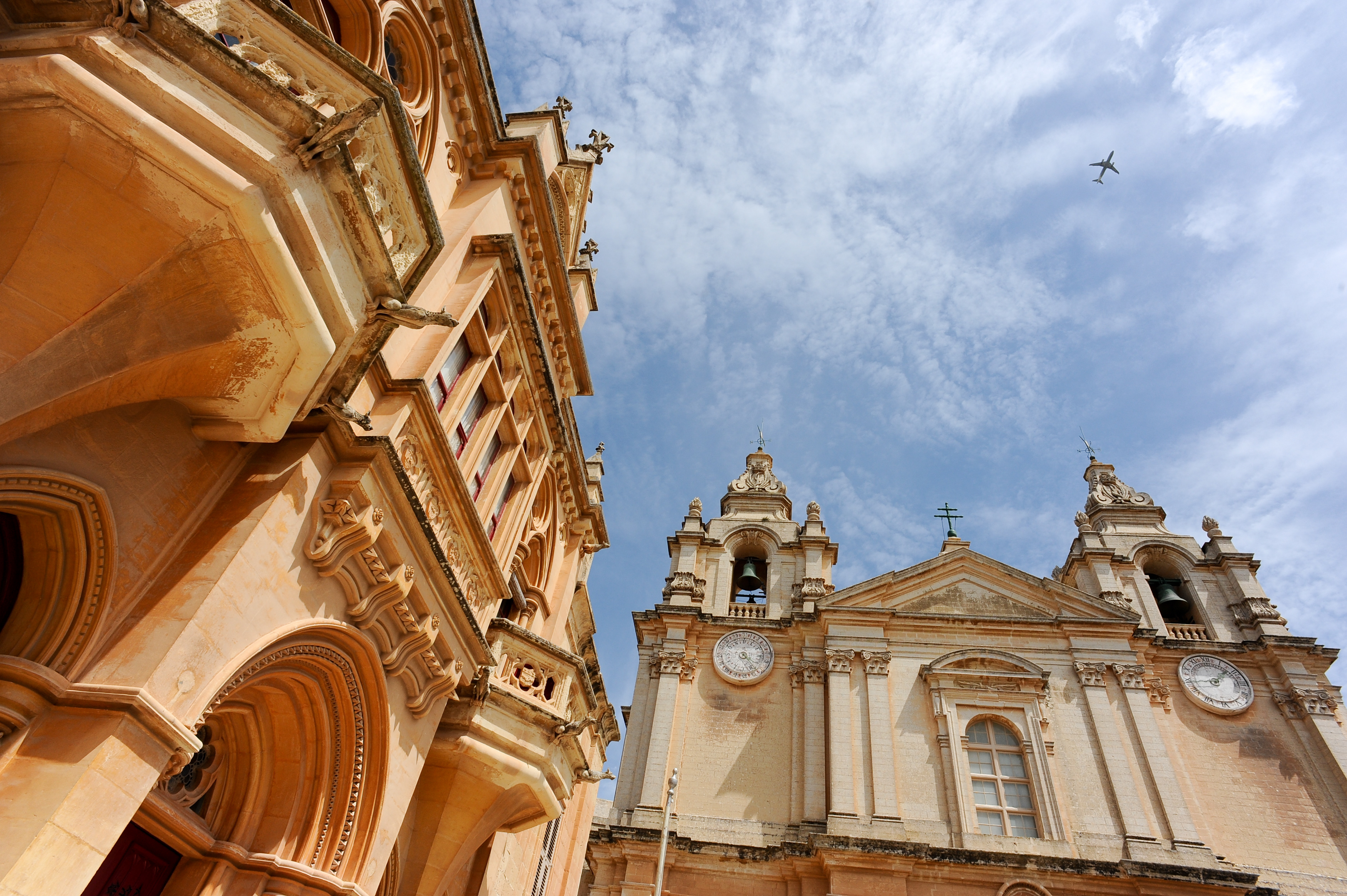 St. Paul's Cathedral, Valletta (Mdina), Malta, Mediterranean Sea.